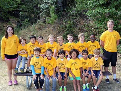 1 Grade Boys Pose as a Group