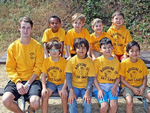 2 Grade Boys Pose as a Group