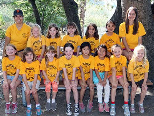 2 Grade Girls Pose as a Group